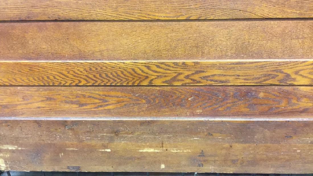 Vintage Carved Wood Headboard - 4
