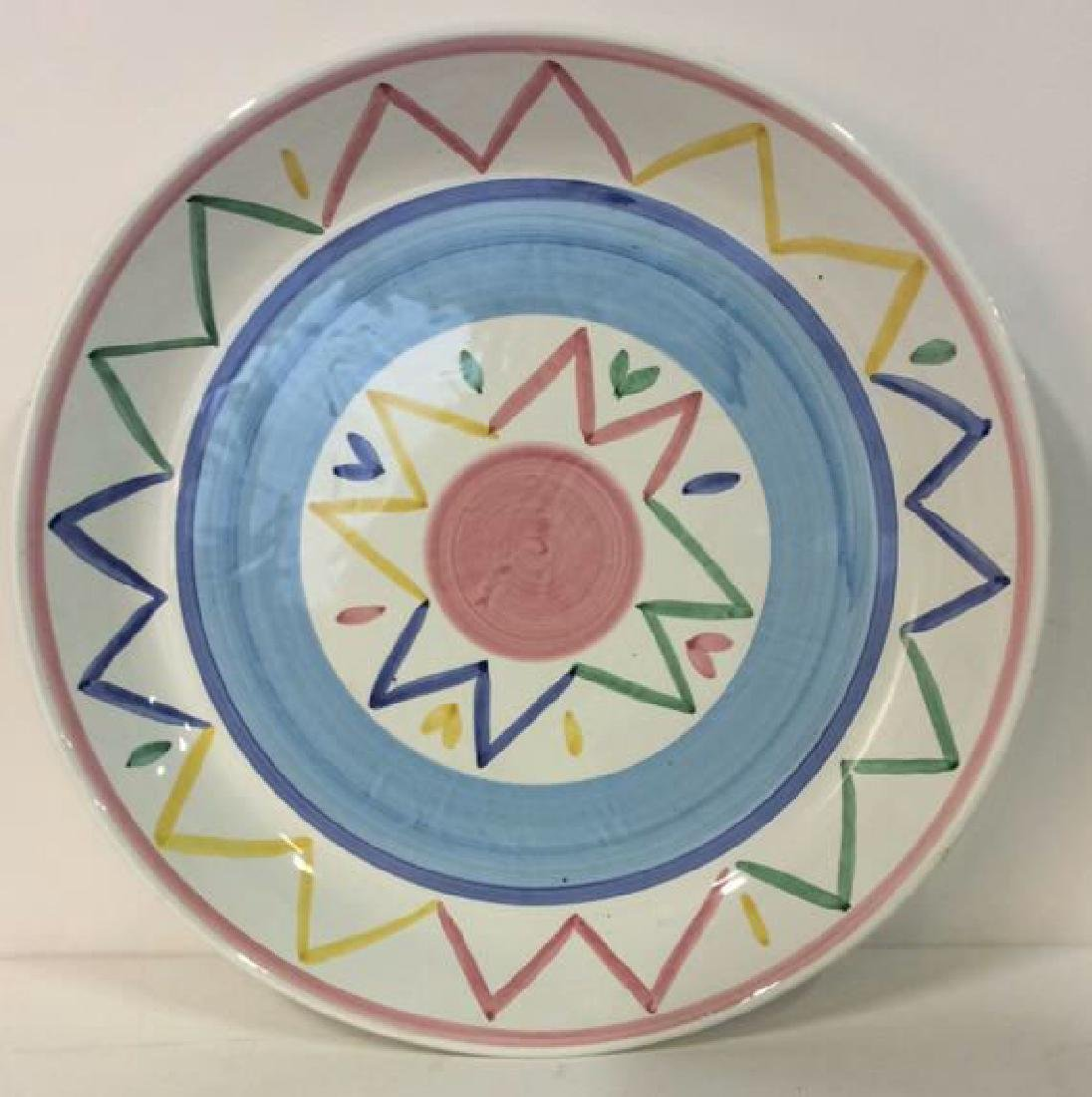 Large Hand painted Platter Italy