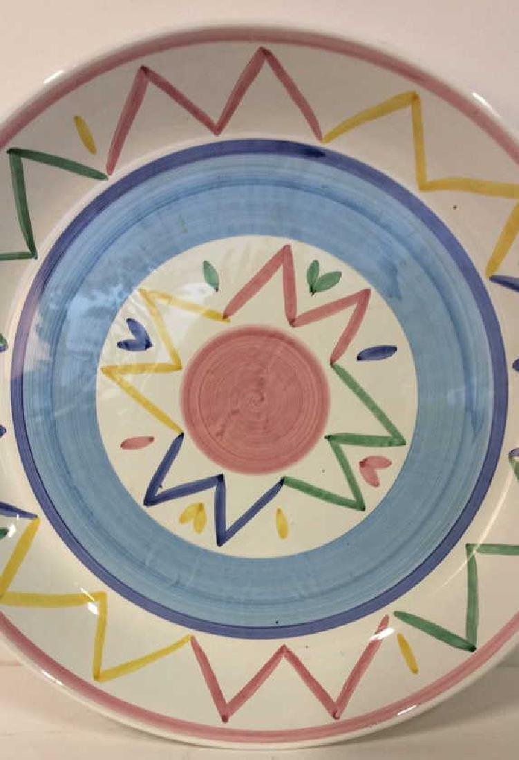 Large Hand painted Platter Italy - 2