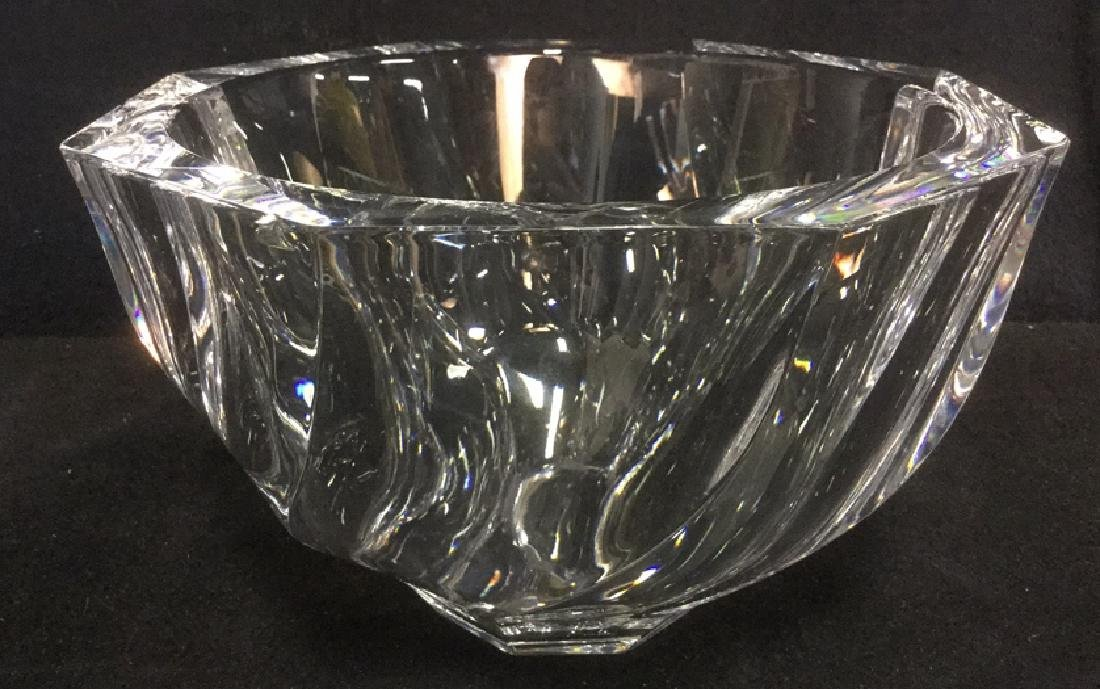 Orrefors Crystal Art Glass Bowl Vase
