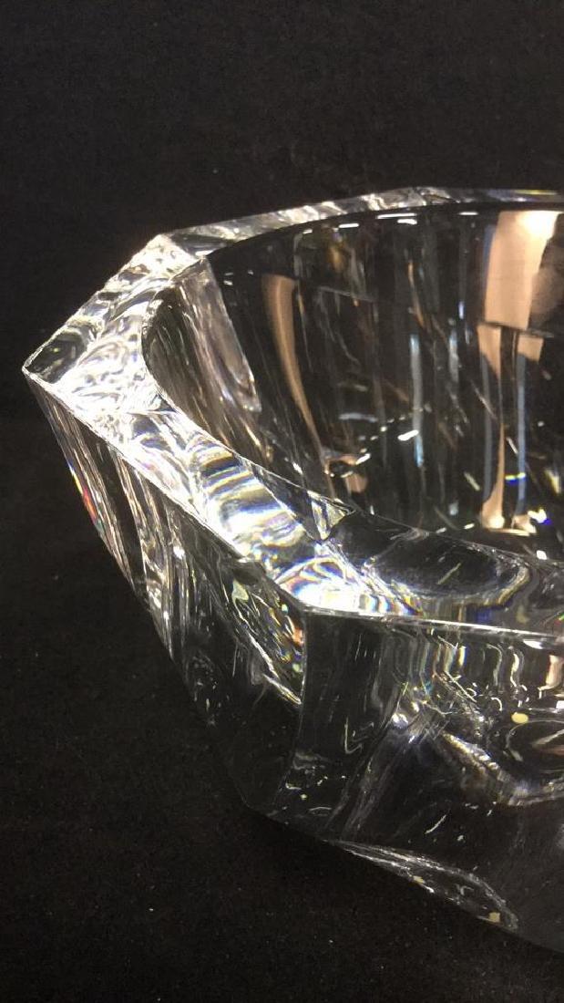 Orrefors Crystal Art Glass Bowl Vase - 2