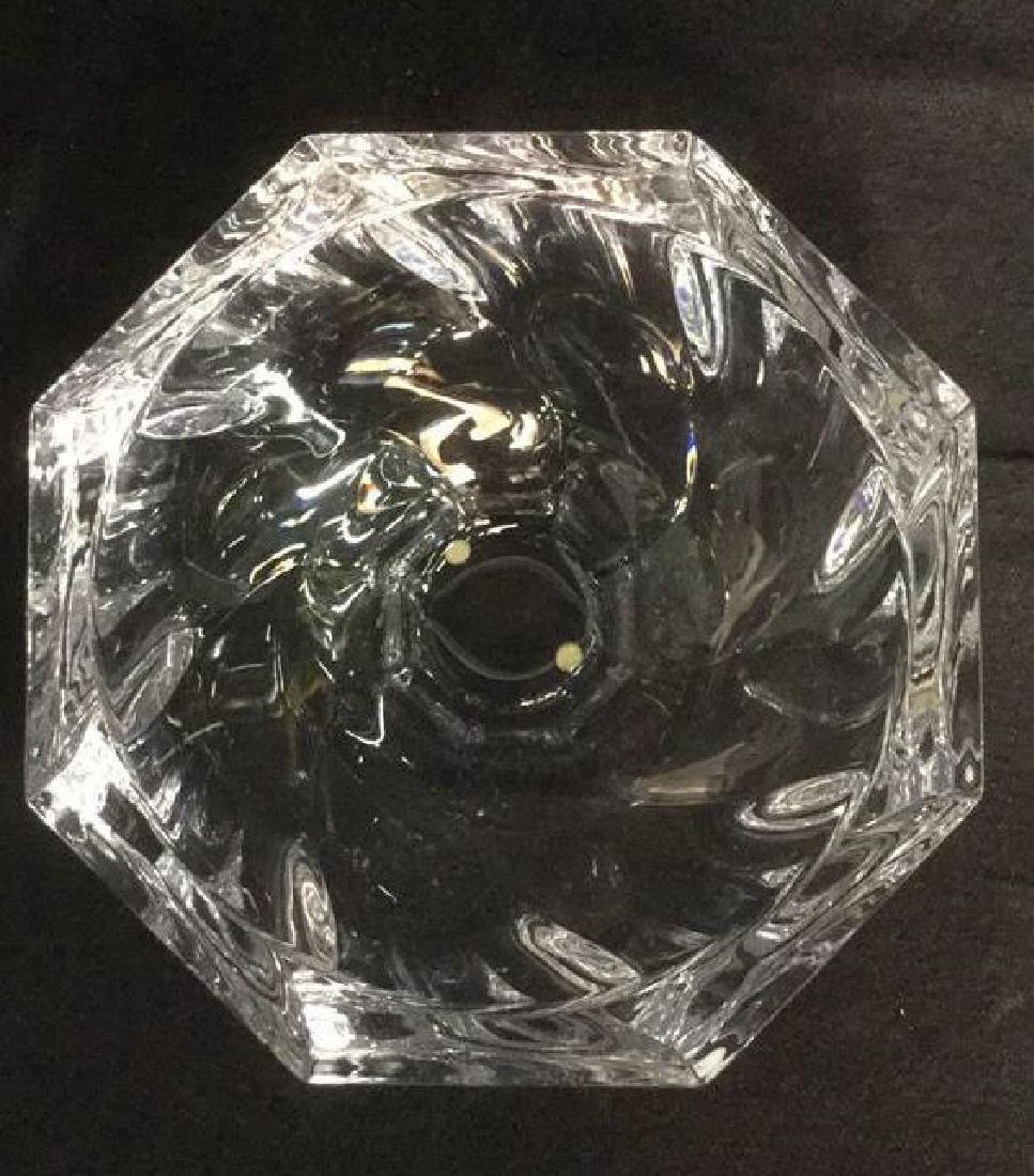 Orrefors Crystal Art Glass Bowl Vase - 3