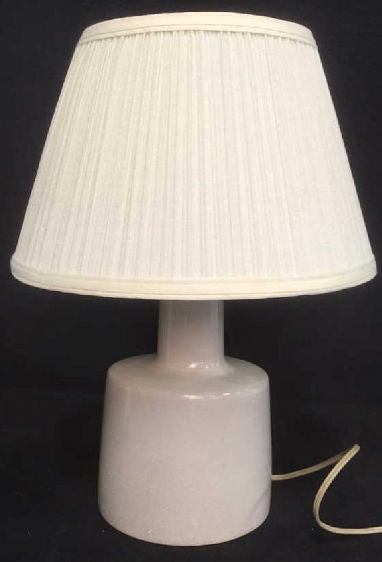 Mid Century Ceramic Lamp Indiana Studio - 2