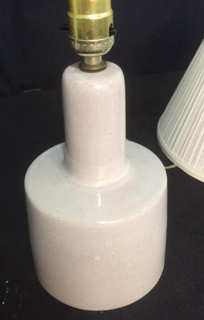 Mid Century Ceramic Lamp Indiana Studio - 6