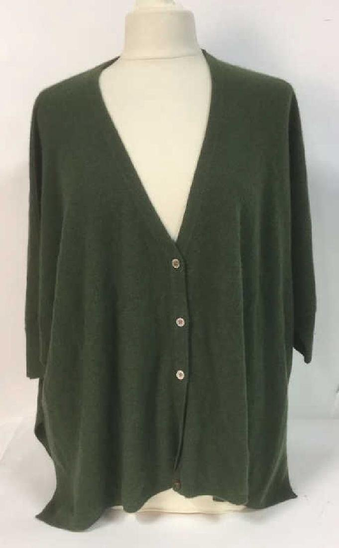 Minnie Rose Cashmere Button Up Sweater