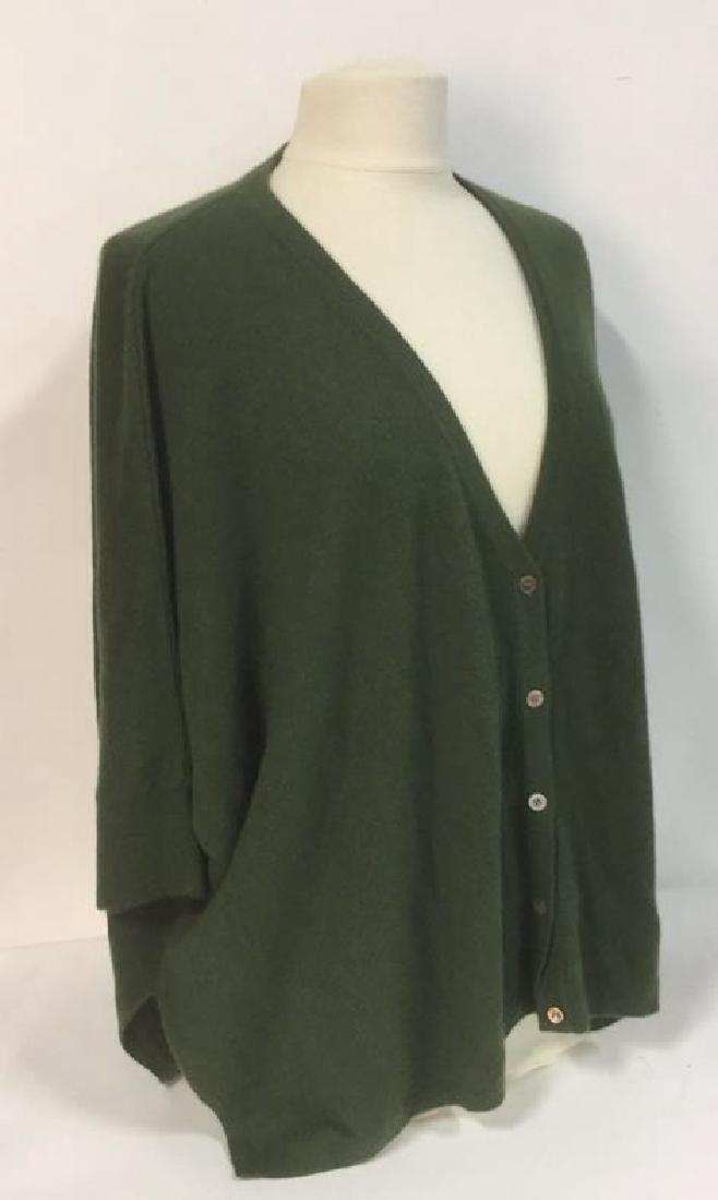 Minnie Rose Cashmere Button Up Sweater - 2