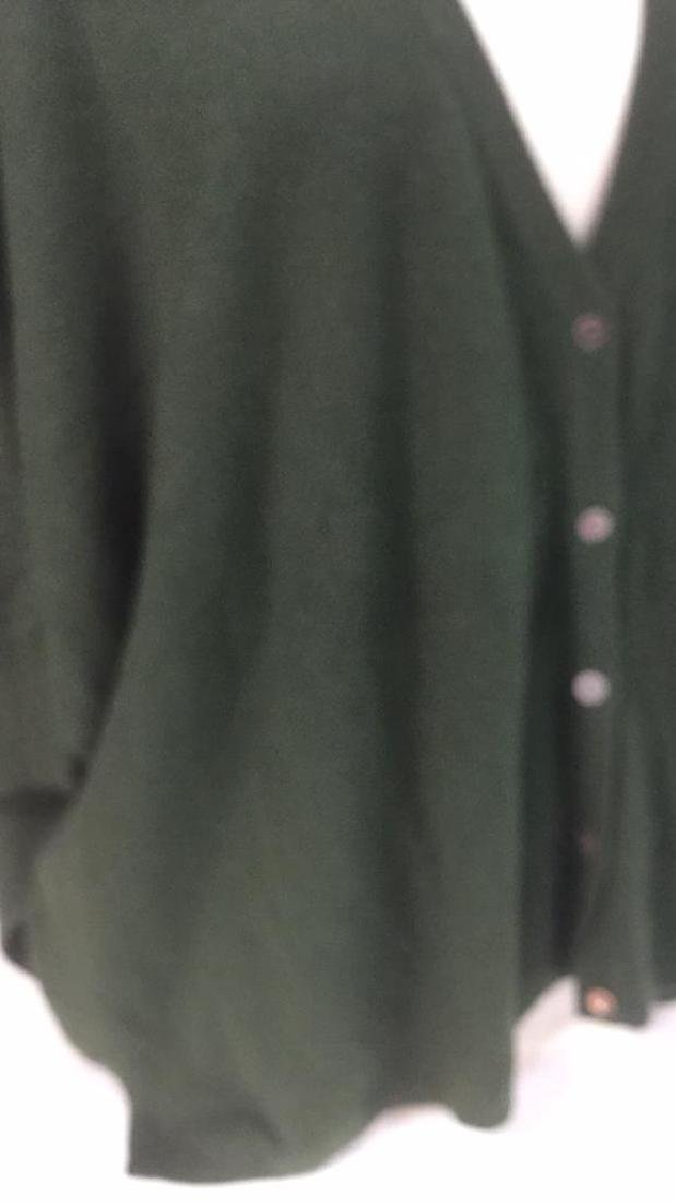 Minnie Rose Cashmere Button Up Sweater - 3