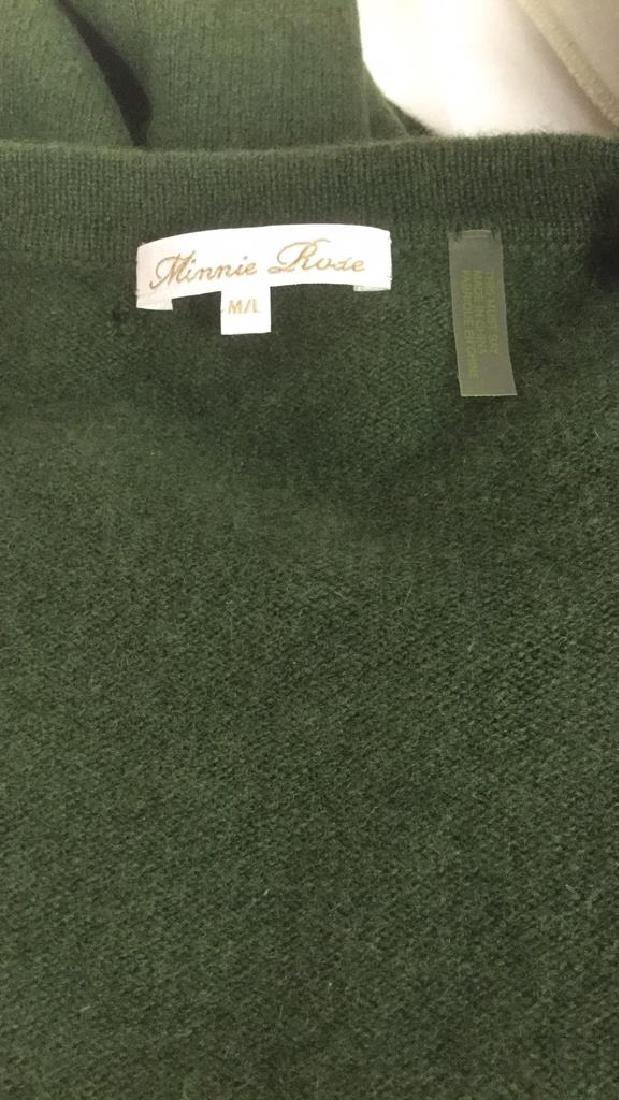 Minnie Rose Cashmere Button Up Sweater - 7