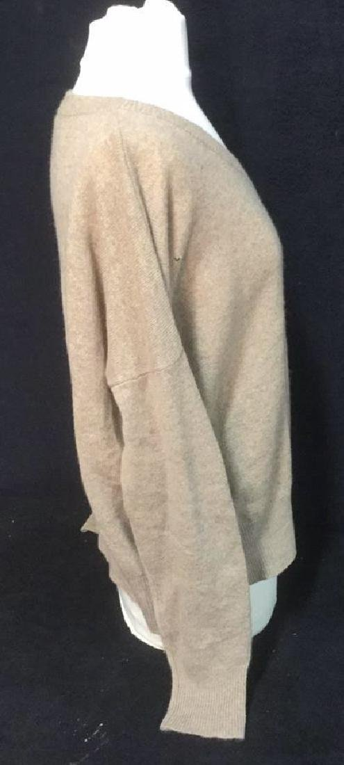 Minnie Rose Cashmere V Neck Sweater - 4