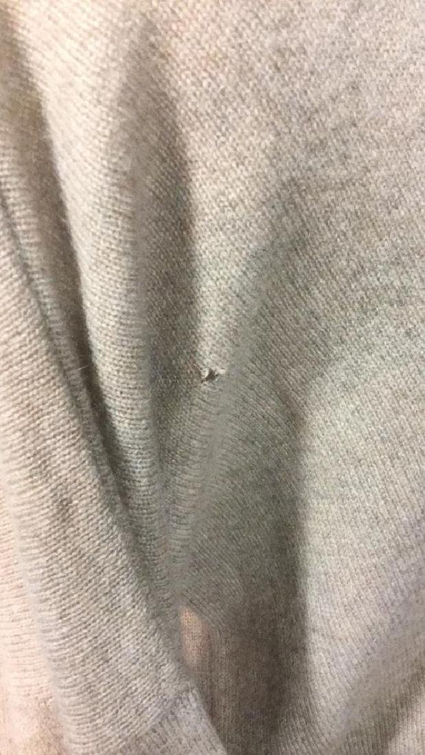 Minnie Rose Cashmere V Neck Sweater - 5