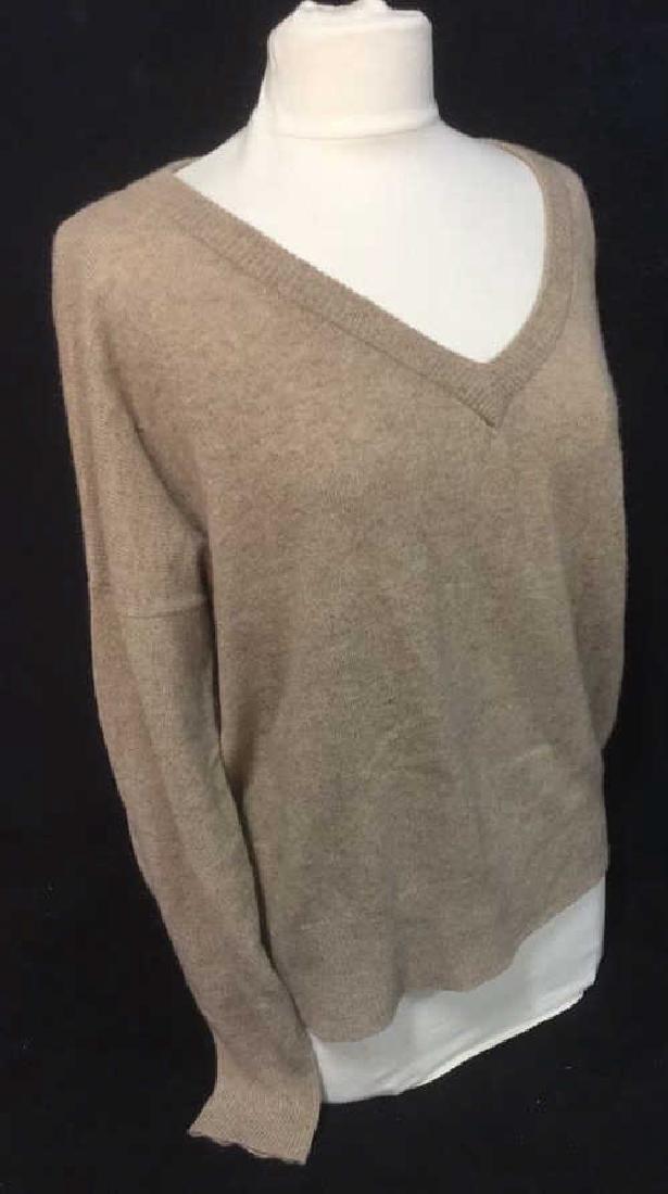 Minnie Rose Cashmere V Neck Sweater - 6