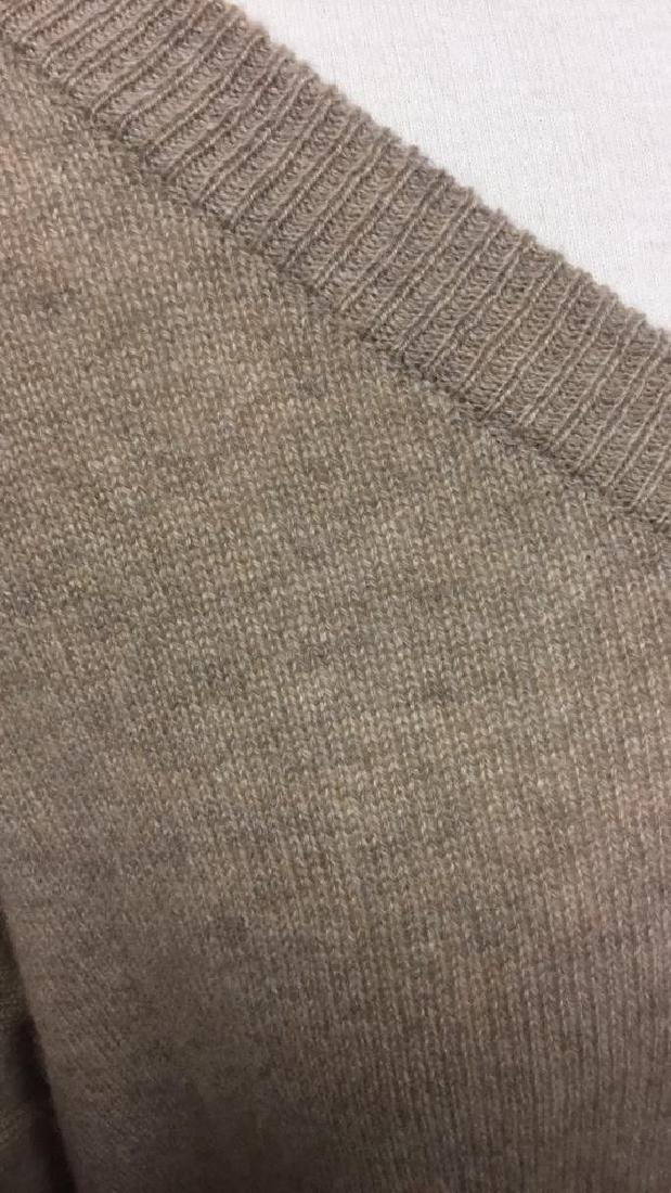 Minnie Rose Cashmere V Neck Sweater - 7