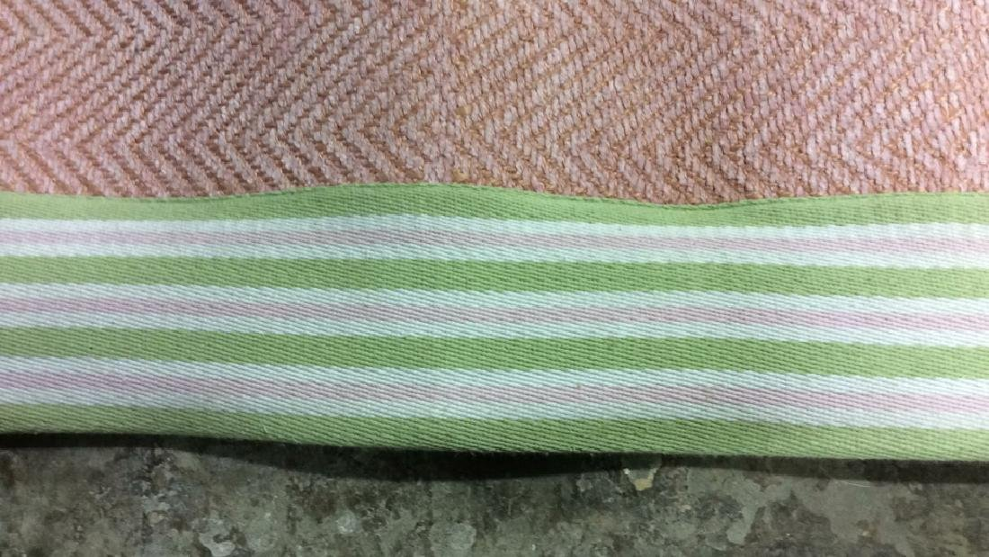 POTTERY BARN KIDS Pink & Green Toned Rug - 3