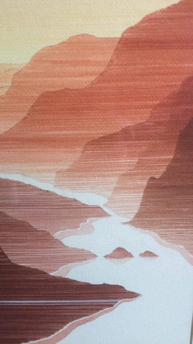 John Sovjani Watercolor Painting