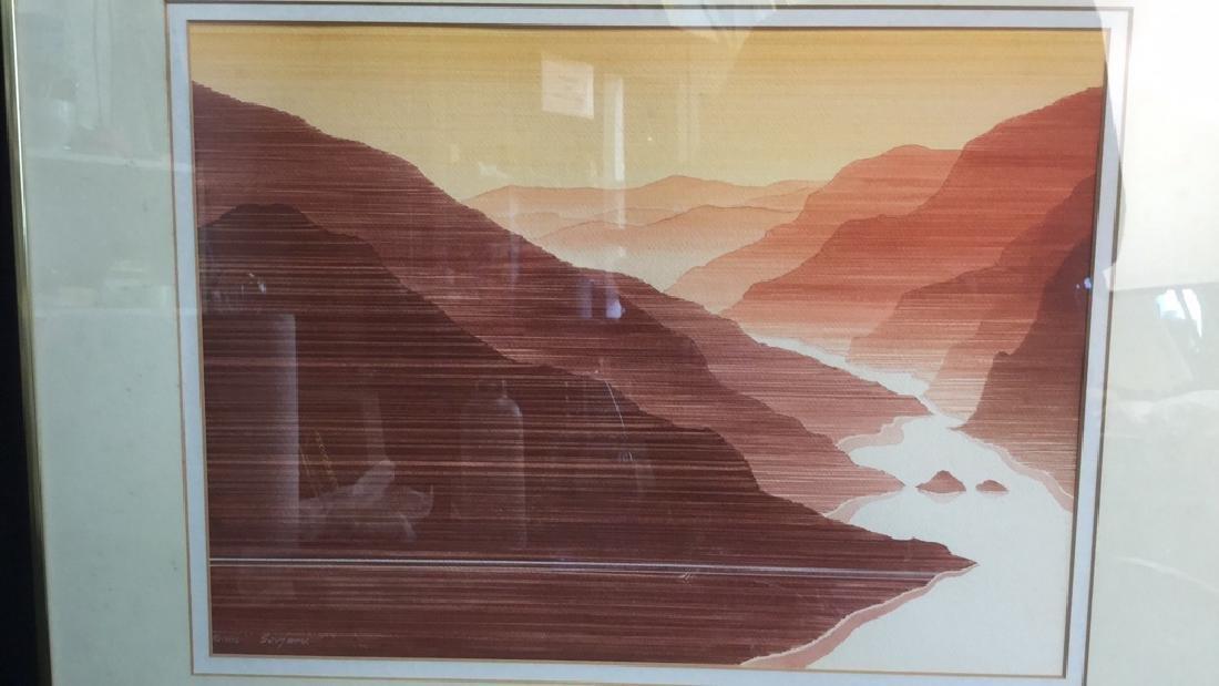 John Sovjani Watercolor Painting - 2
