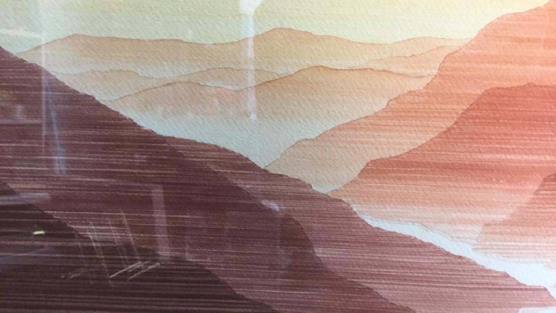 John Sovjani Watercolor Painting - 6
