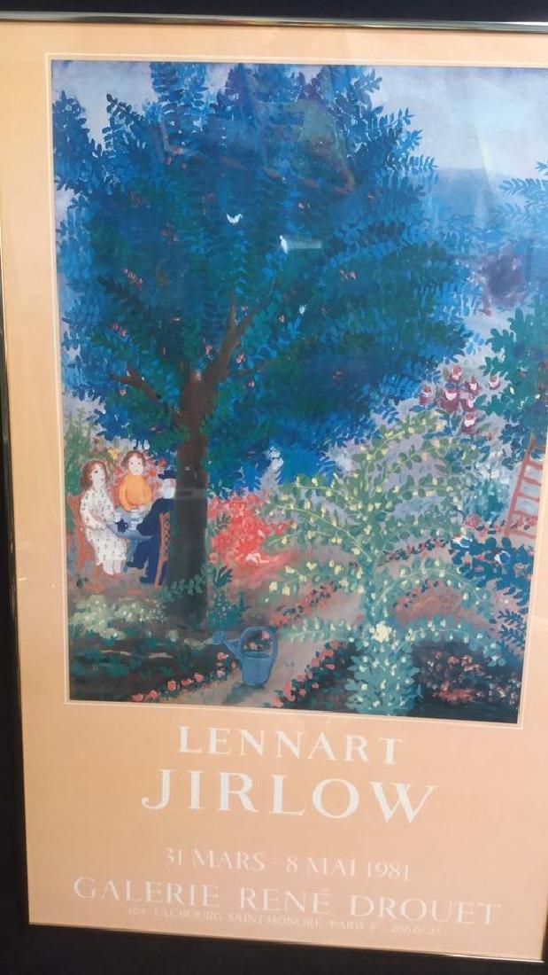 Vintage Lennart Jirlow Exhibition Poster - 3