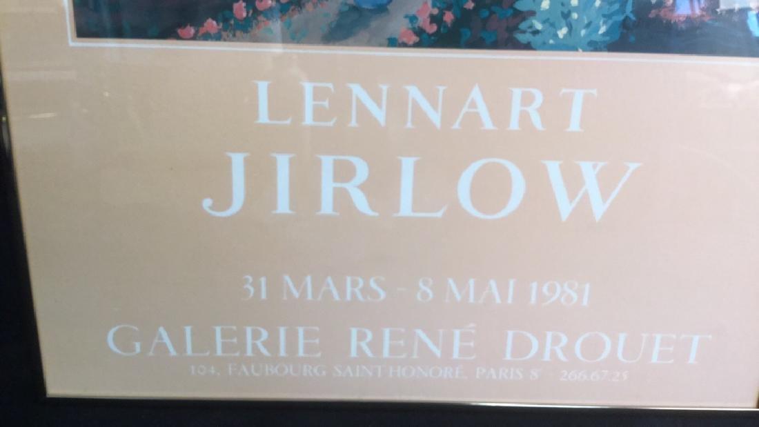Vintage Lennart Jirlow Exhibition Poster - 4