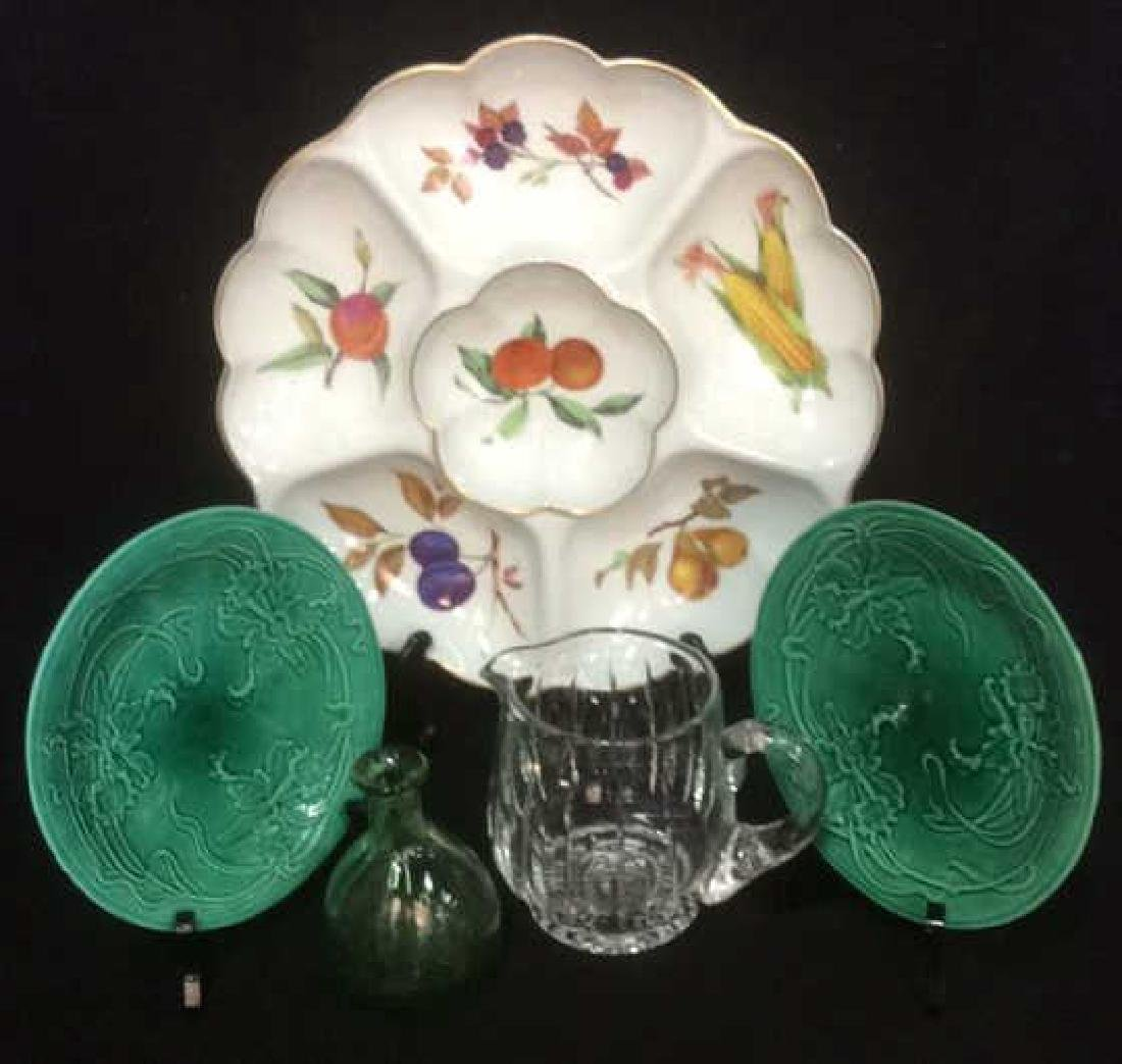 Royal Worcester Tray and Table Top Accessories