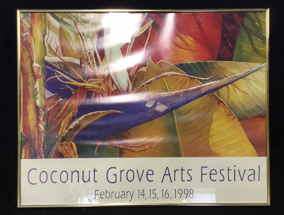 Framed Artwork Coconut Grove Arts Festival