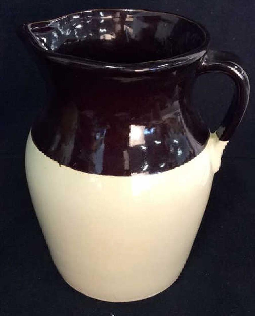 Two Toned Ceramic Water Pitcher - 2