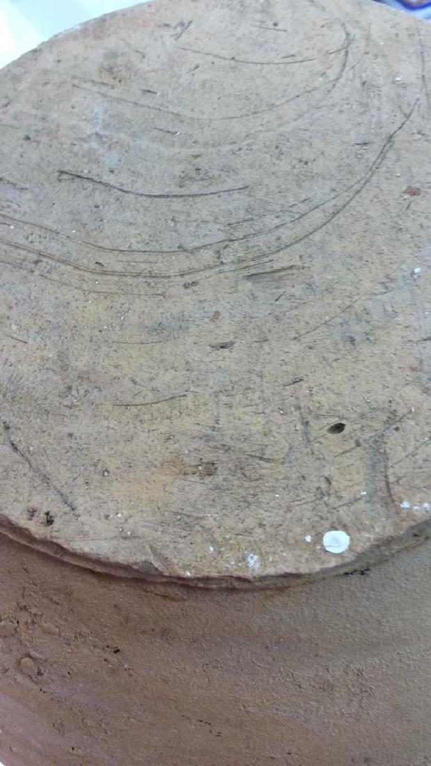 Unfinished Natural Earthenware Pitcher Jug - 8