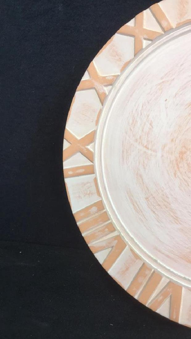 Vintage Canetti Ceramic Wall Clock - 4