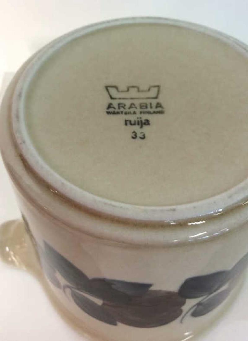 ARABIA Ruija Pottery Pitcher - 7