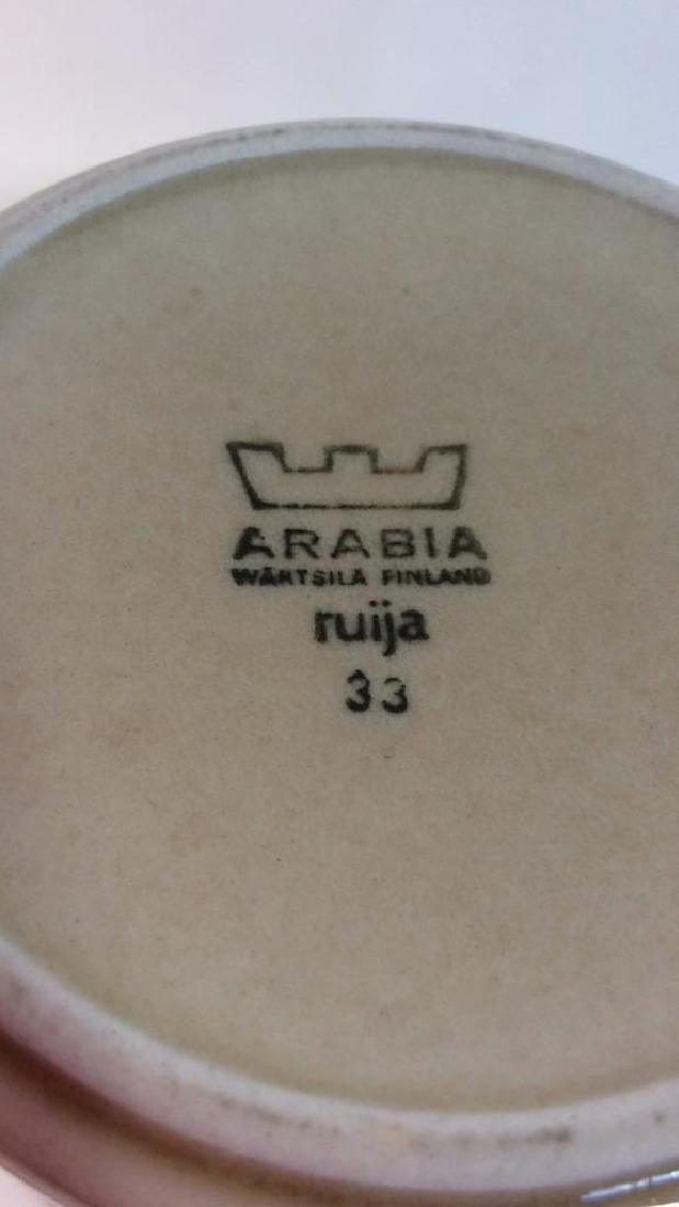 ARABIA Ruija Pottery Pitcher - 8