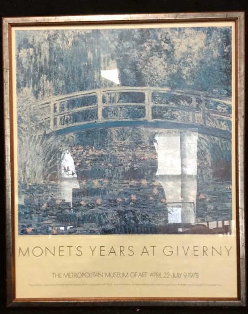 Metropolitan Museum of Art Poster Monet