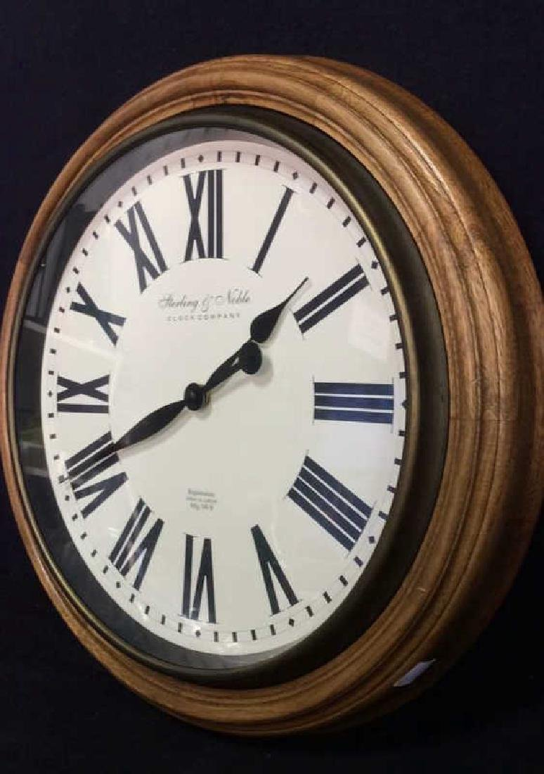 STERLING & NOBLE Roman Numeral Clock - 3