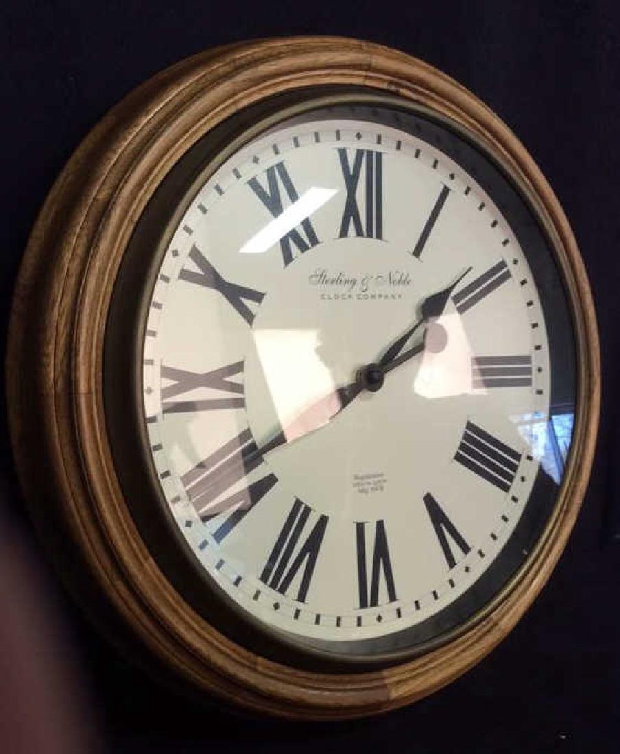 STERLING & NOBLE Roman Numeral Clock - 4