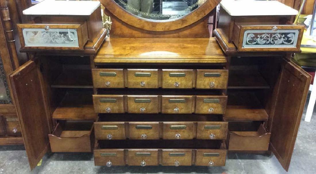 Apothecary Inspired Vanity Dresser - 10