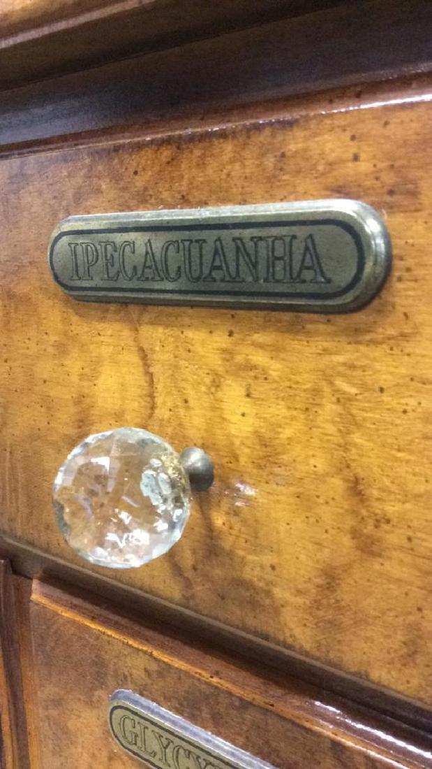 Apothecary Inspired Vanity Dresser - 5