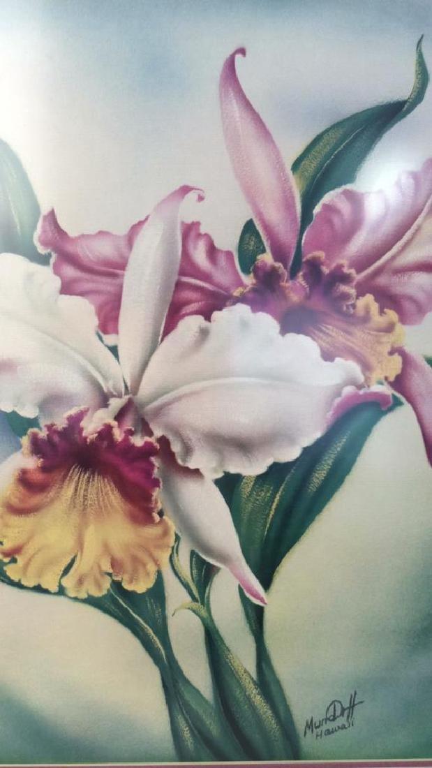 Framed Floral Illustration Print - 2