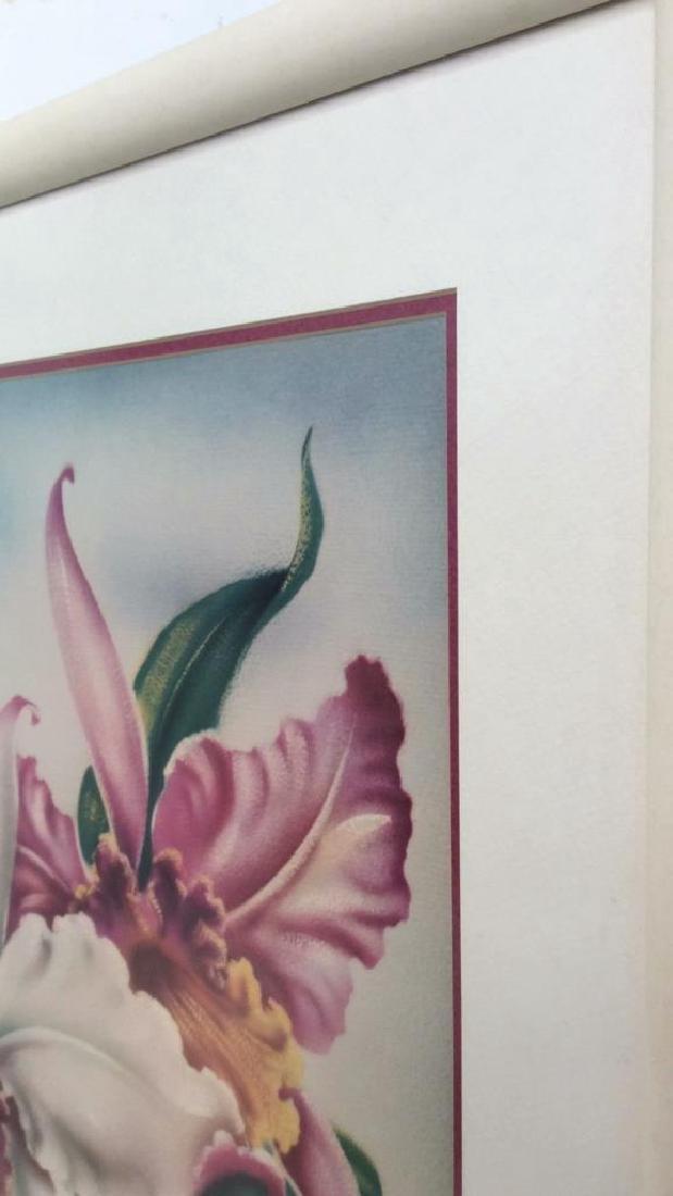Framed Floral Illustration Print - 4