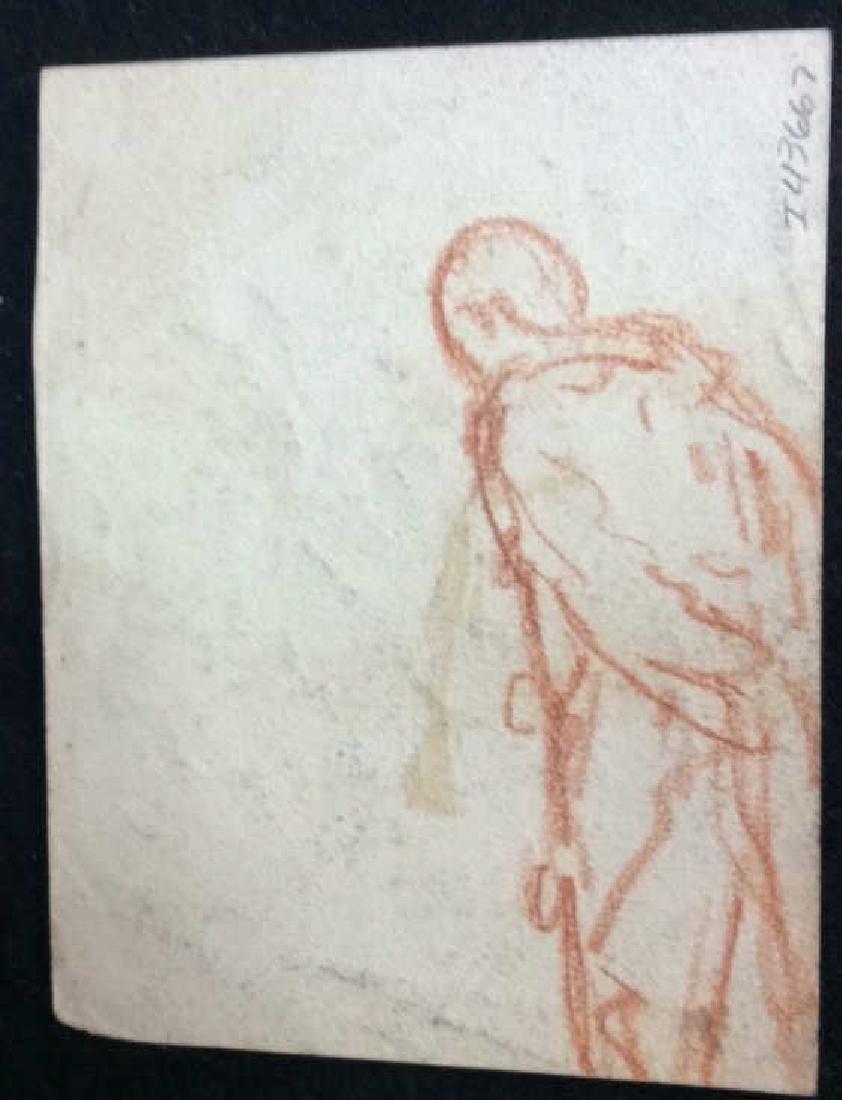 Lot 3 Abel Damourette Charcoal Sketches - 9