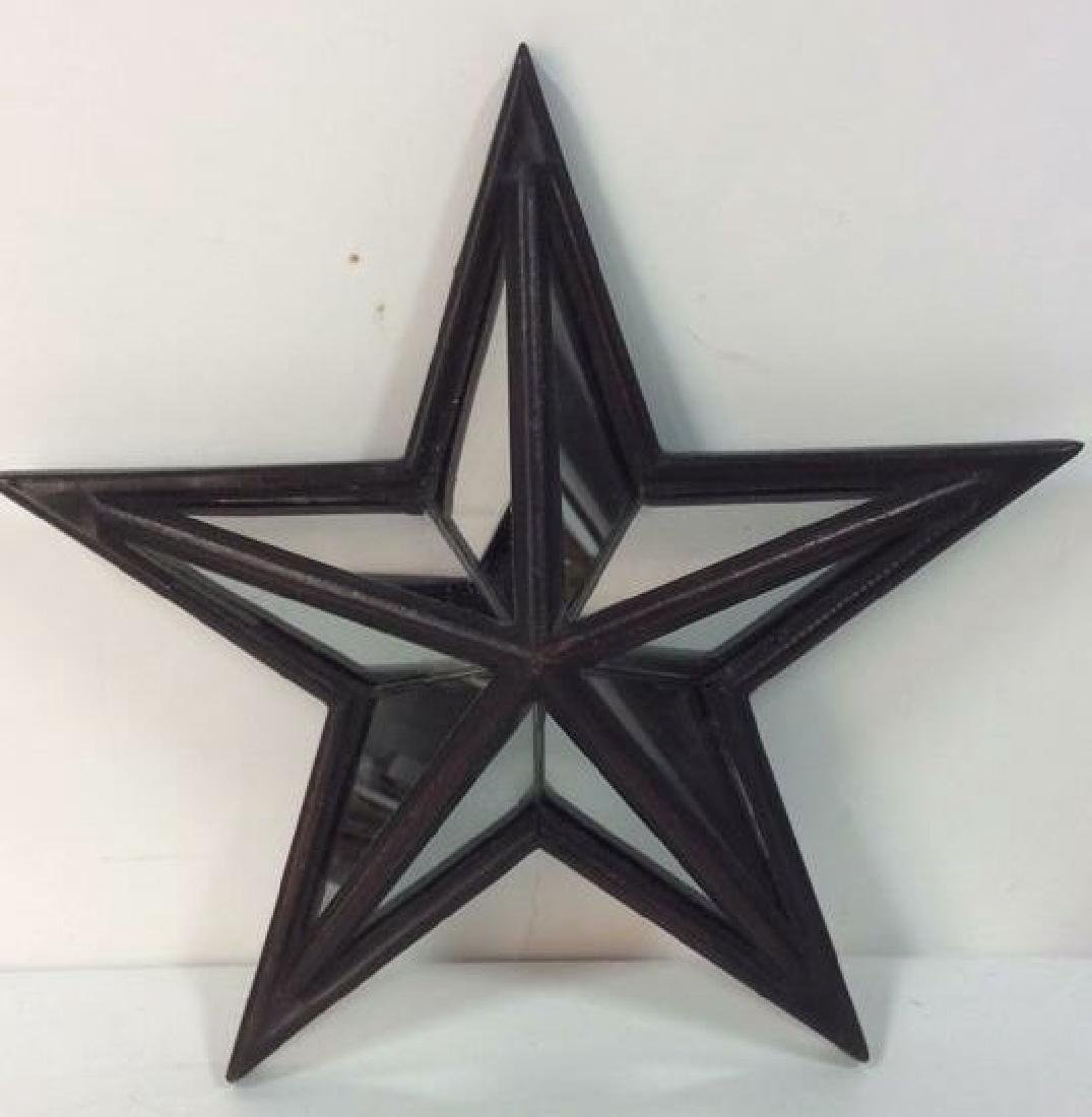 Pair CREATIVE HOME ACCENTS Star Mirrors - 2
