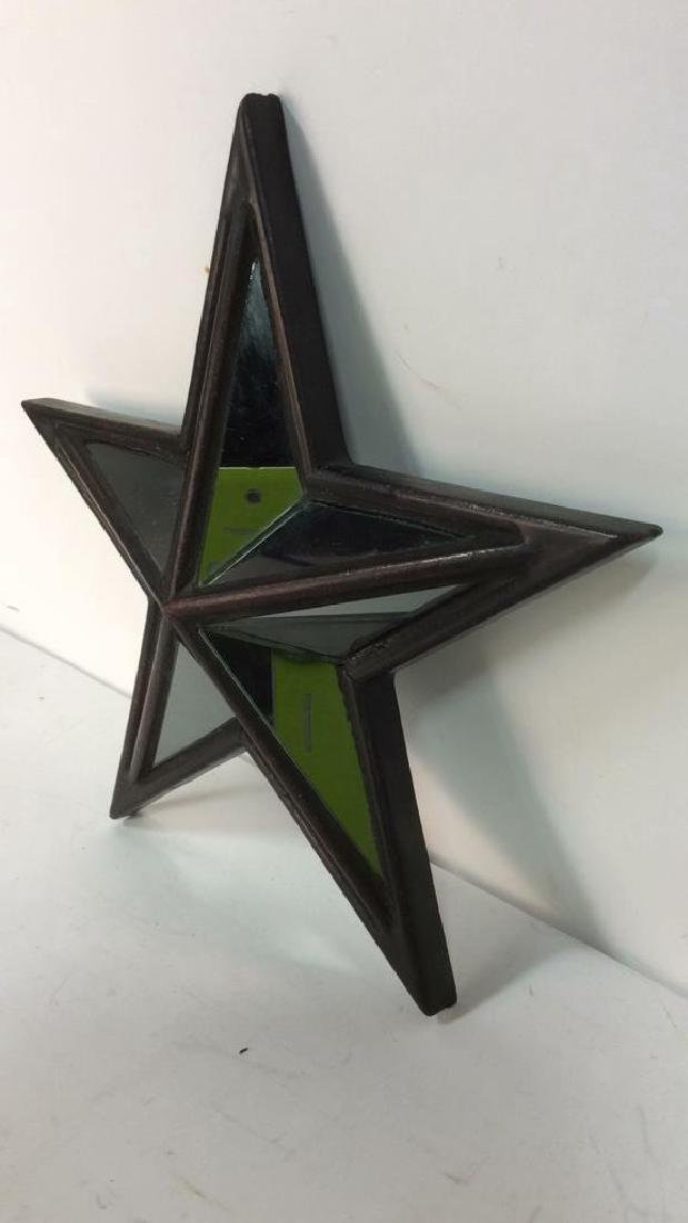 Pair CREATIVE HOME ACCENTS Star Mirrors - 3