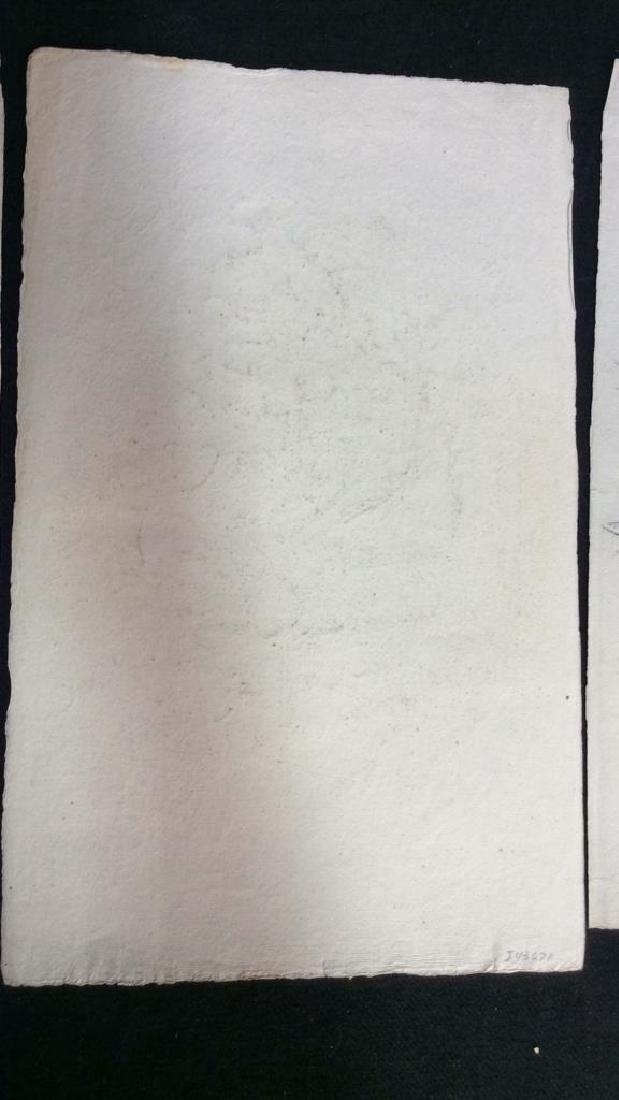 Lot 3 Abel Damourette Signed Charcoal Sketches - 9