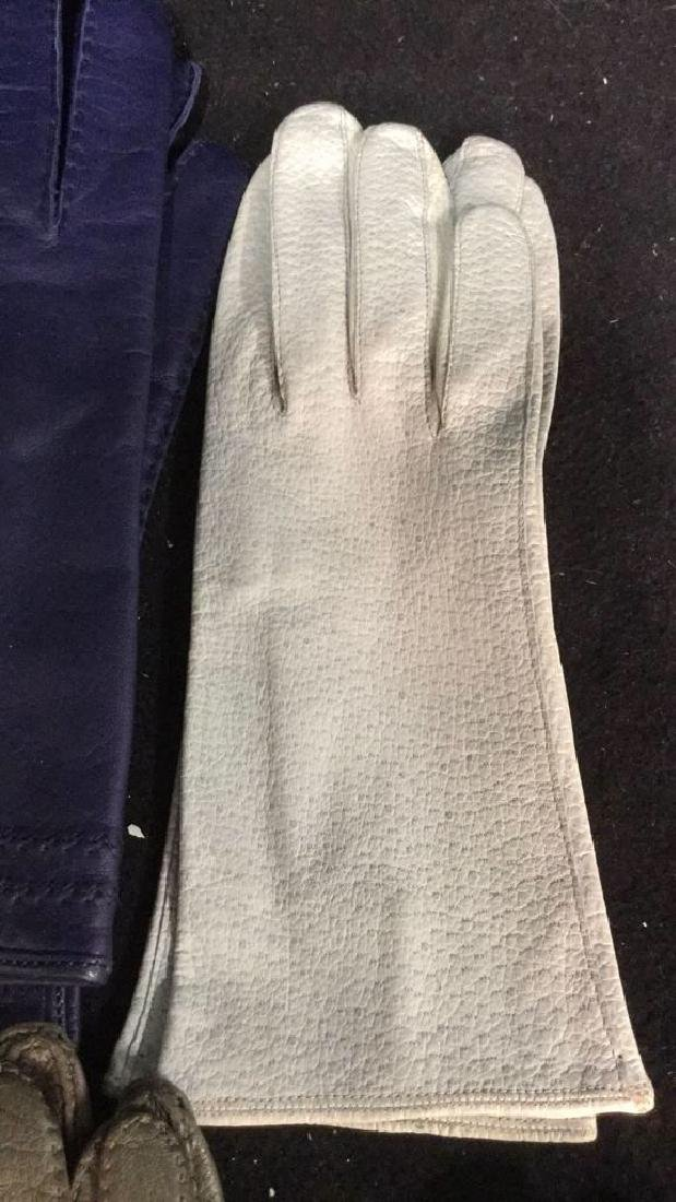 Group 11 Vintage Leather Gloves and More - 10