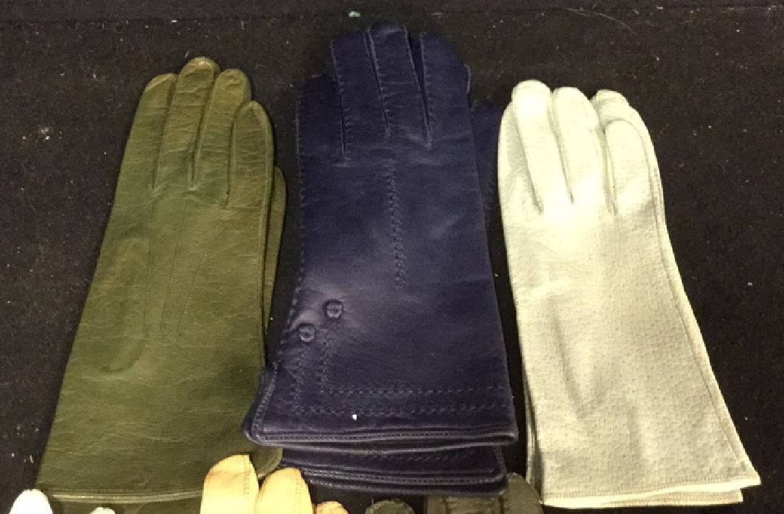 Group 11 Vintage Leather Gloves and More - 2