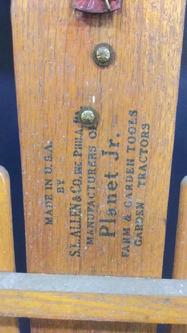 Vintage  Wood and Metal FLEXIBLE FLYER Sled - 5