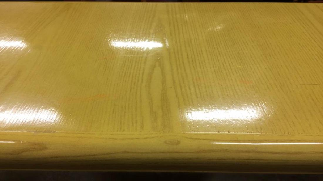 Water Fall Edge Mid Century Modern Console Table - 4