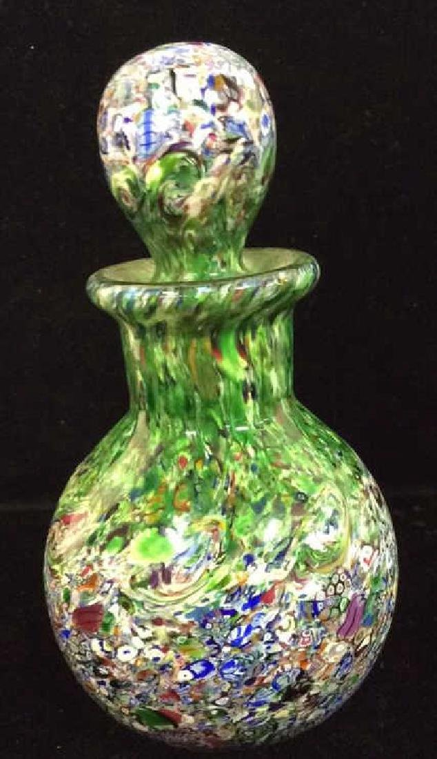 Art Glass Perfume Bottle And Pitcher - 7