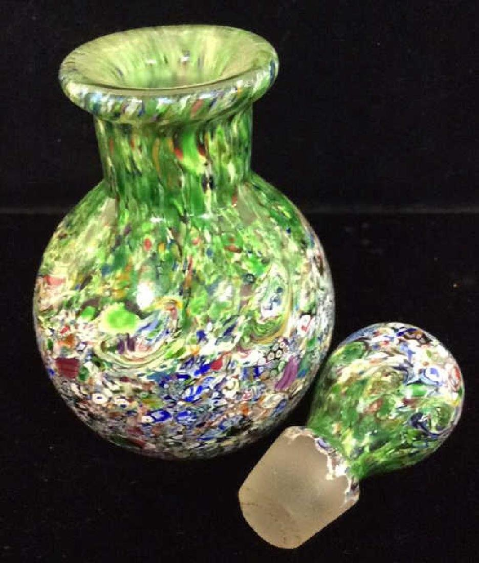 Art Glass Perfume Bottle And Pitcher - 8