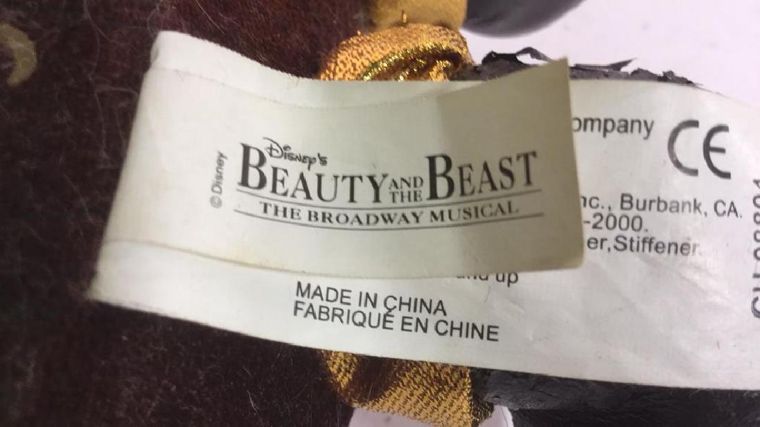 Lot 2 Beauty & The Beast Dolls - 6