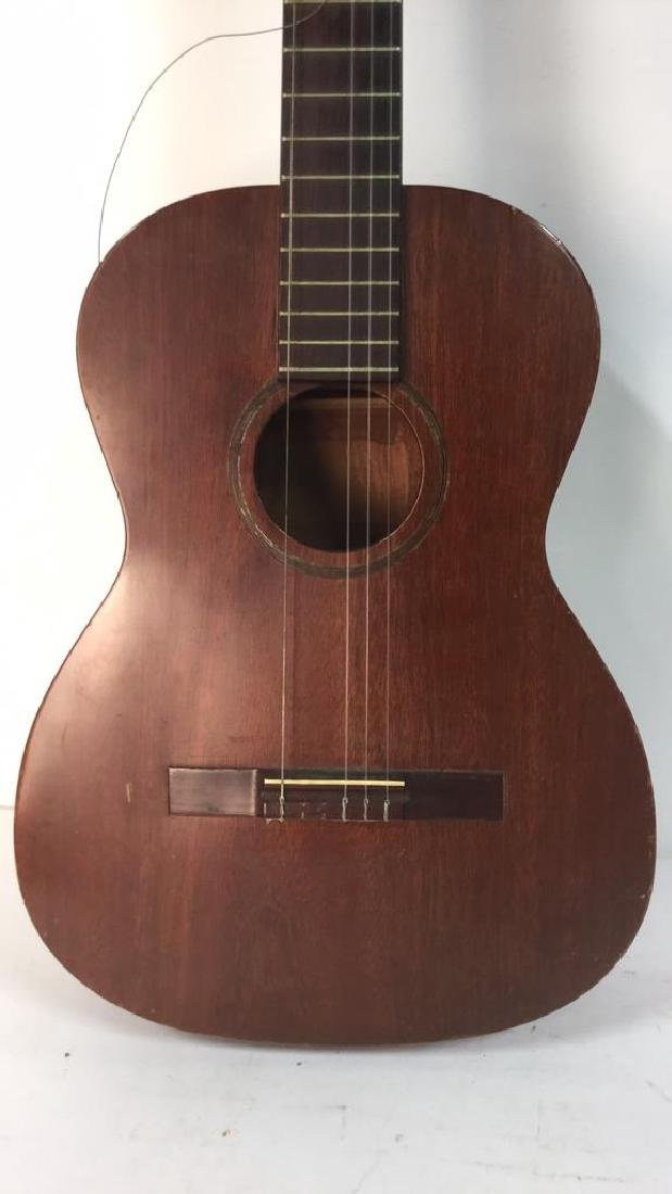 FAVILLA Brown Toned Guitar & Case - 4