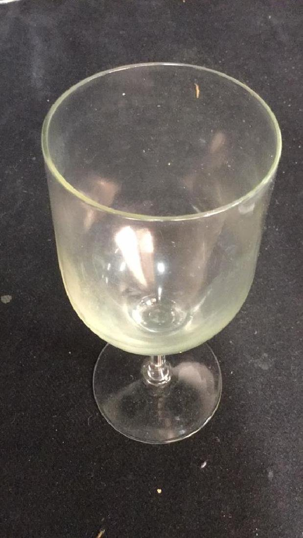 Lot 23 Assorted Glass & Crystal Wine Glasses - 3