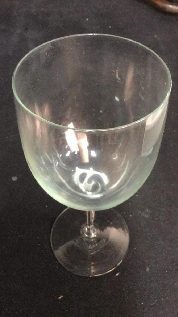 Lot 23 Assorted Glass & Crystal Wine Glasses - 5